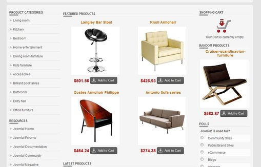 Drop shipping premium website brokers sell your for Websites to sell furniture online