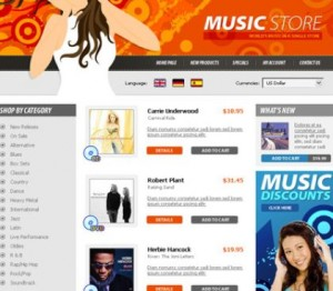 music websites for sale